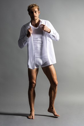 2pack muških majica Slim White