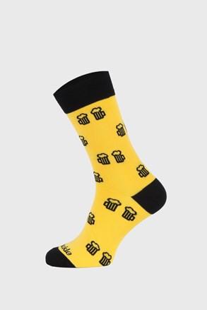 Ponožky Fusakle Na zdravie žlté