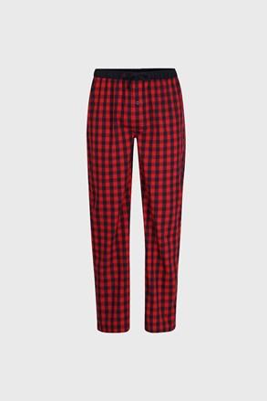 Męskie spodnie od piżamy Mars Red