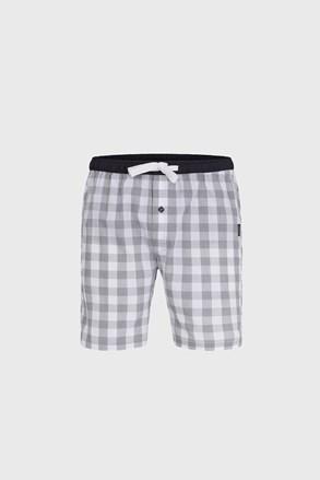 Męskie szorty od piżamy Grey