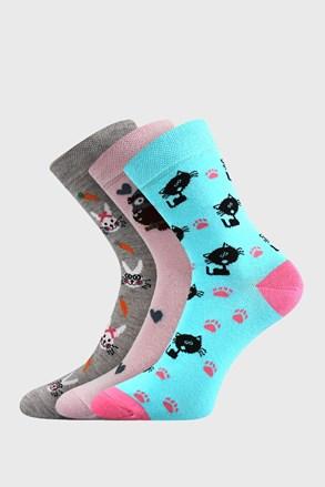 3 PACK чорапи за момичета Lovely
