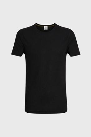 Pánske tričko s krátkymi rukávmi v čiernej farbe