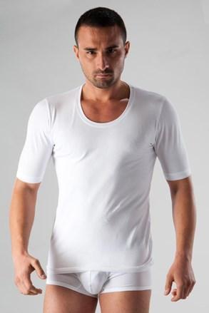 Męski bawełniany T-shirt Basic biały