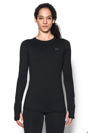 Μαύρη αθλητική μπλούζα Under Armour Crew