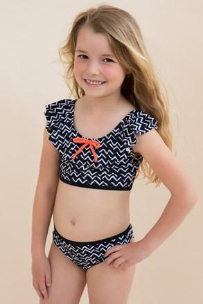 Dievčenské dvojdielne plavky Zig Zag