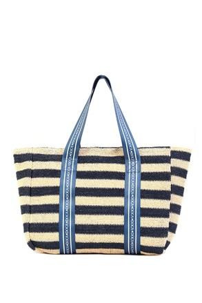 Дамска плажна чанта Elle синя