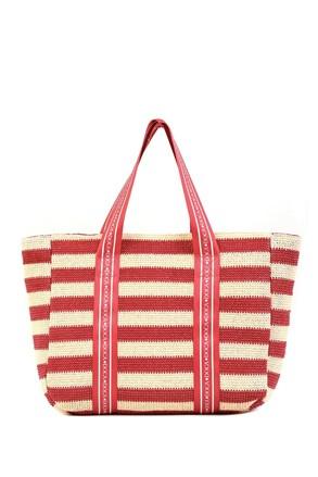 Дамска плажна чанта Elle розова