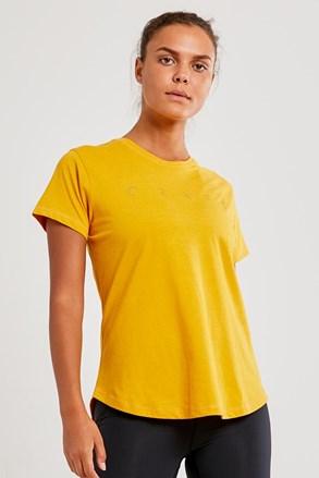 Dámske tričko CRAFT Deft žlté
