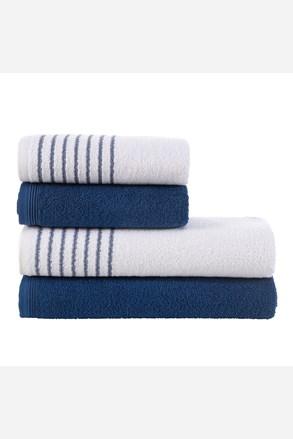 Eleganza törölköző és fürdőlepedő szett, kék