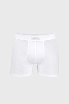 Białe bokserki męskie Cotton Nature