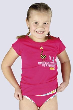Dievčenské tričko Amazing ružové