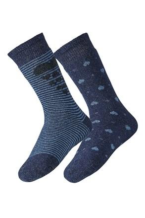2 para ženskih nogavic Angora