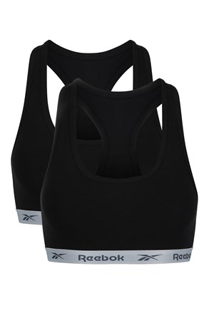 2 pack top Crop Reebook, negru