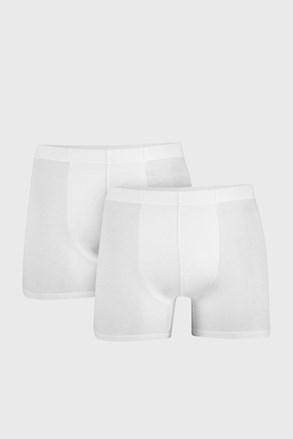 Dwupak białych bokserek Uomo Cotton