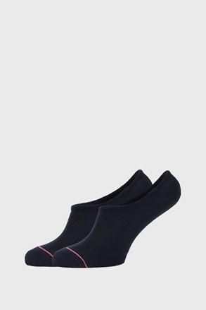 2 PACK μαύρες χαμηλές κάλτσες Tommy Hilfiger Iconic