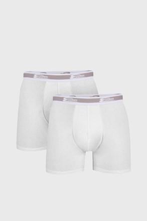 2 pack pánskych boxeriek UOMO Bianco dlhšie