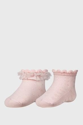 Baby girl lányka zokni, 2 pár 1 csomagban