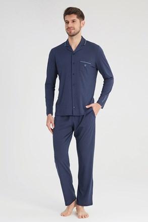 Σκούρα μπλε πυτζάμα Elegant