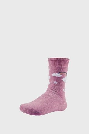Sky meleg lányka zokni