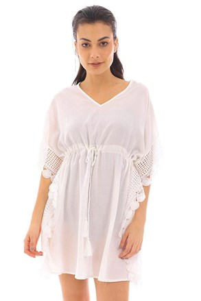 Plážové šaty Angela biele
