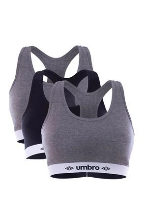 3ШТ жіночих спортивних бюстгальтерів Umbro A1
