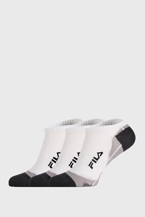 3 PACK ponožiek FILA Invisible biele