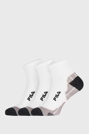 Trzybak białych skarpetek Fila Multisport