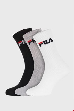 FILA magasabb zokni, három színben, 3 pár 1 csomagban