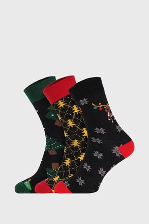 3 PÁR karácsonyi zokni I