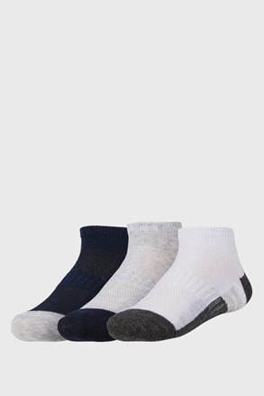 Basic alacsony szárú gyerek zokni, 3 pár 1 csomagban
