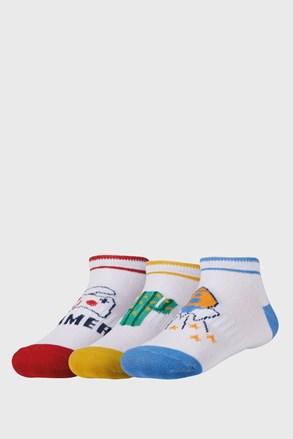 3 pack детски по-къси чорапи Summer