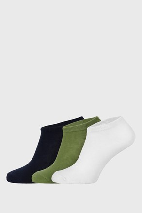3 PACK dječjih niskih čarapa Jungle