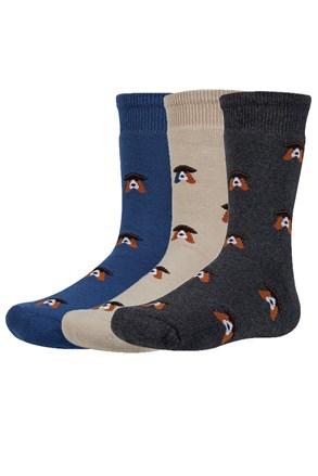 Verth meleg gyerek zokni, 3 pár 1 csomagban