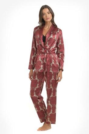 Leopard szatén pizsama