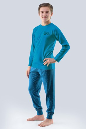 Chłopięca piżama Atlantic petrolowa