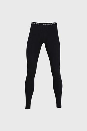 Čierne pyžamové nohavice Tom Tailor