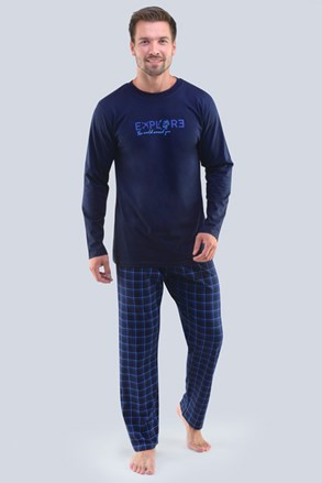 Pijama Ellis, albastru
