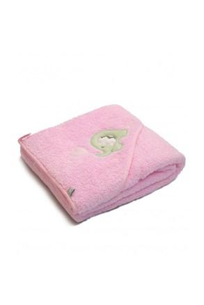 Detská osuška Blue Kids ružový slon