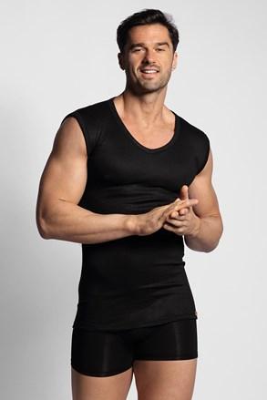 Μαύρο ισοθερμικό μπλουζάκι αμάνικο