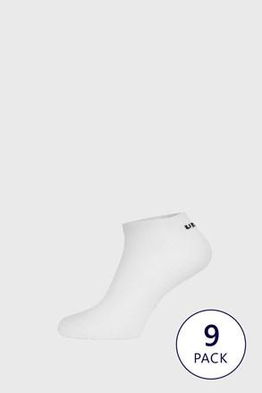 9 PACK бели чорапи до глезена Umbro