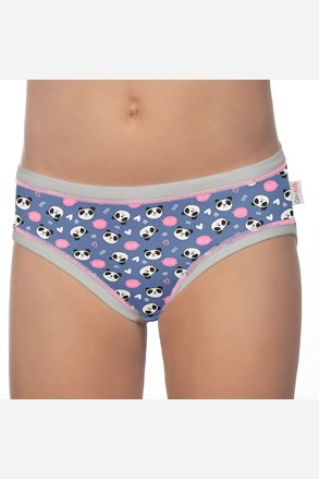 3 PACK dievčenských nohavičiek Panda