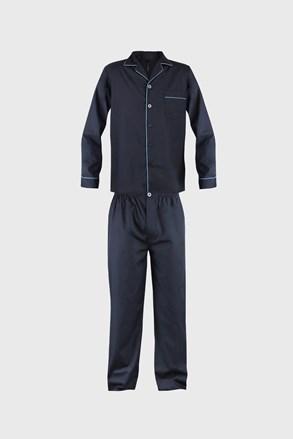 Pijama barbateasca Must, albastru inchis