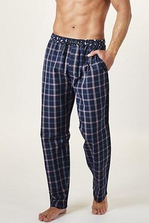 Kockované pyžamové nohavice