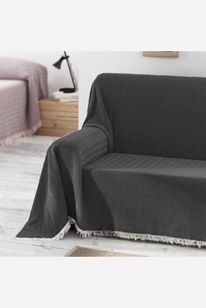 Prikrývka na posteľ Aitana čierna