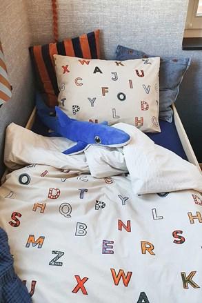 Lenjerie de pat de calitate Abeceda