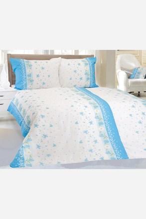 Krepové obliečky Aneta modré