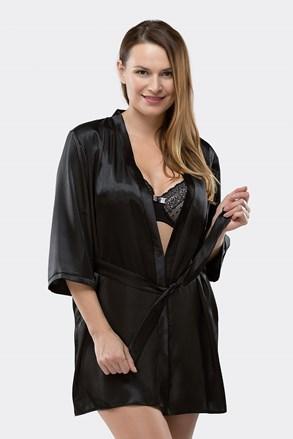 Elegantni ogrtač Aria Black