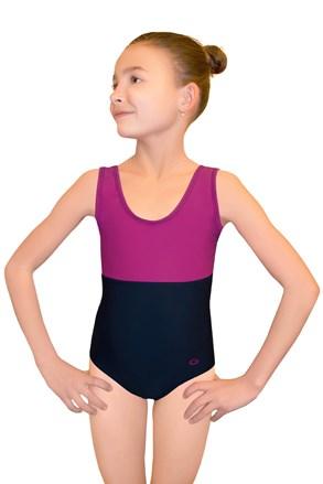 Jednoczęściowy dziewczęcy kostium pływacki Asia