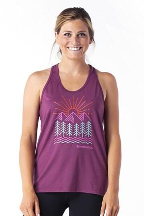 Ženska športna majica SMARTWOOL Merino Forest