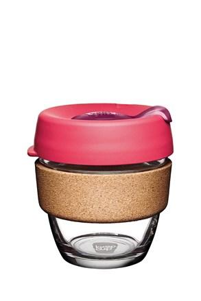 Keepcup utazó bögre parafával, rózsaszín, 227 ml